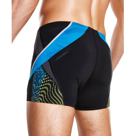 speedo Splice Aquashort Men schwarz/grau